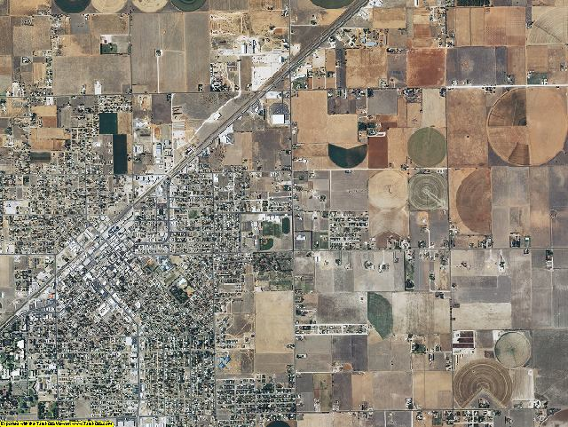 Roosevelt County, New Mexico aerial photography