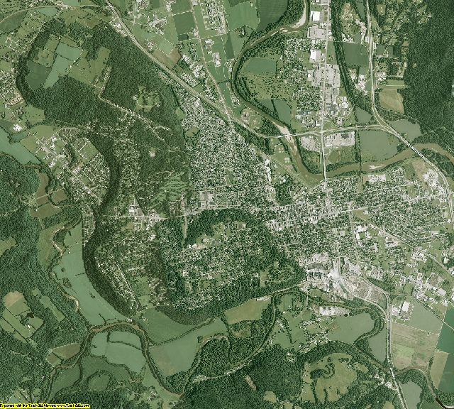 Ross County, Ohio aerial photography