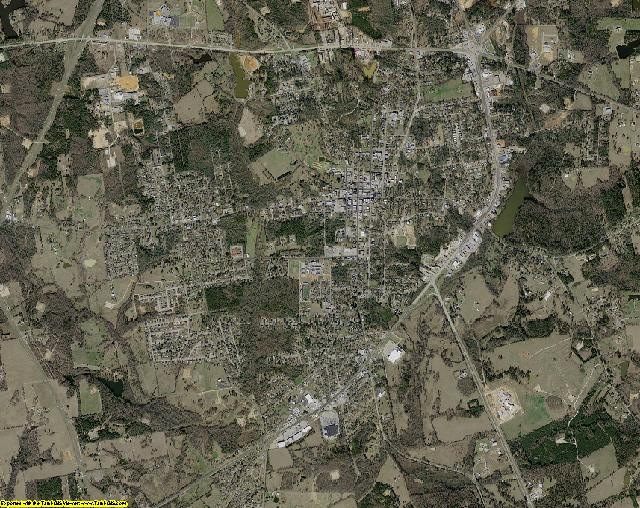 Rusk County, Texas aerial photography