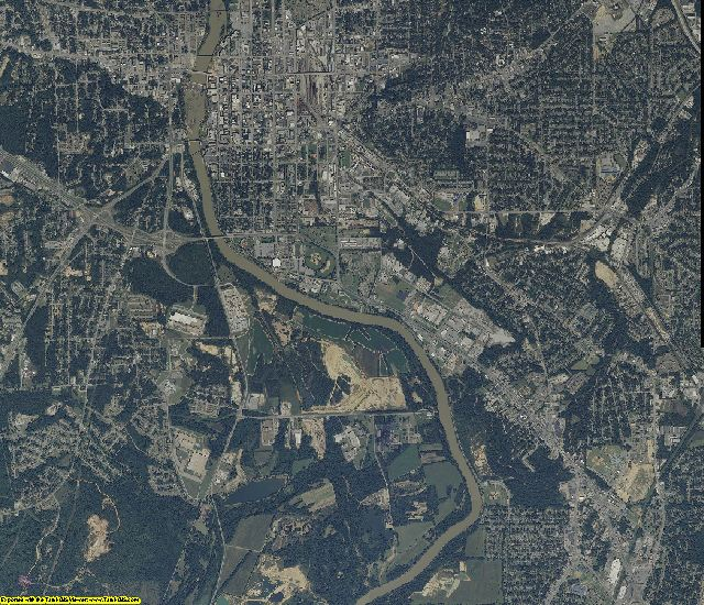 Russell County, Alabama aerial photography