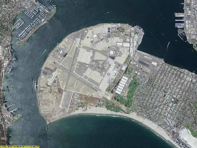 San Diego County, California aerial photography