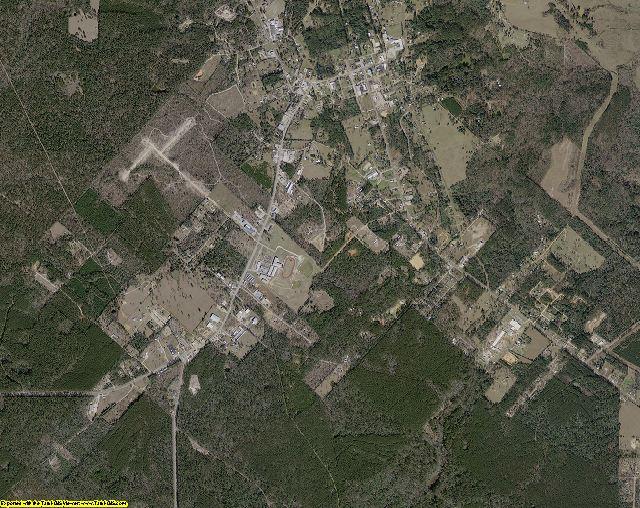 San Jacinto County, Texas aerial photography