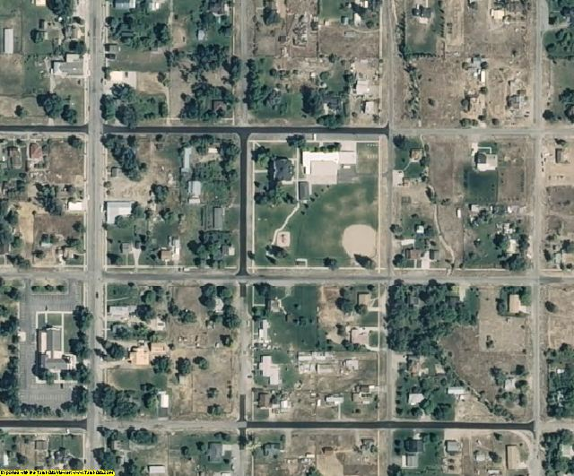 Sanpete County, UT aerial photography detail