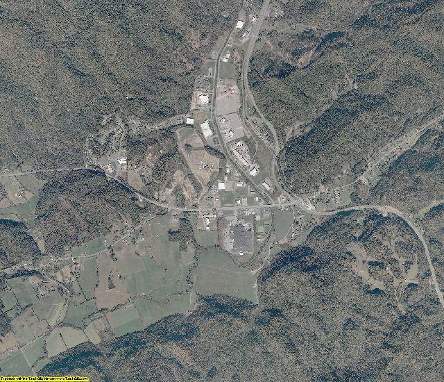 Scott County, Virginia aerial photography