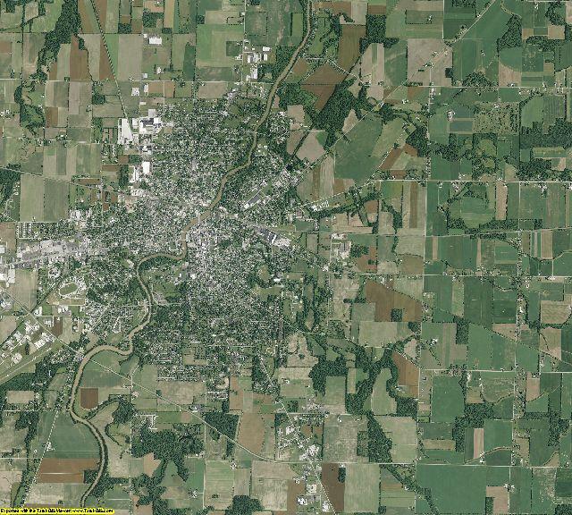 Seneca County, Ohio aerial photography
