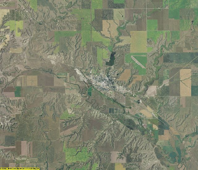 Sheridan County, Montana aerial photography