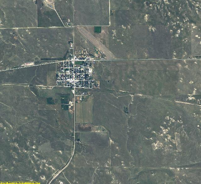 Sioux County, Nebraska aerial photography