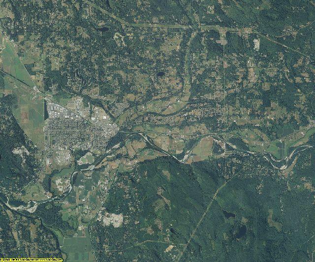 Snohomish County, Washington aerial photography