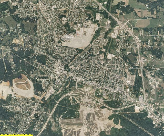 St. Francois County, Missouri aerial photography