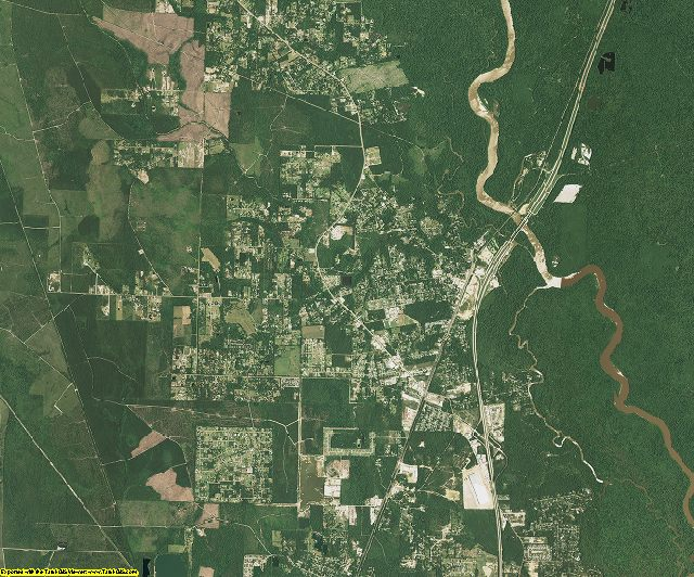St. Tammany County, Louisiana aerial photography