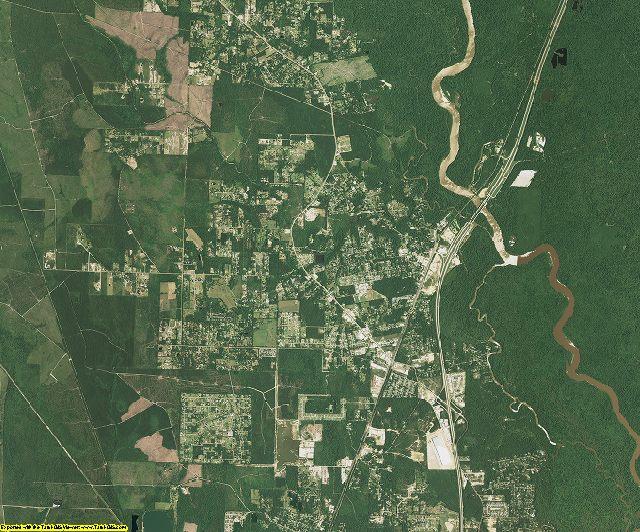 St. Tammany County, Louisiana aerial photography