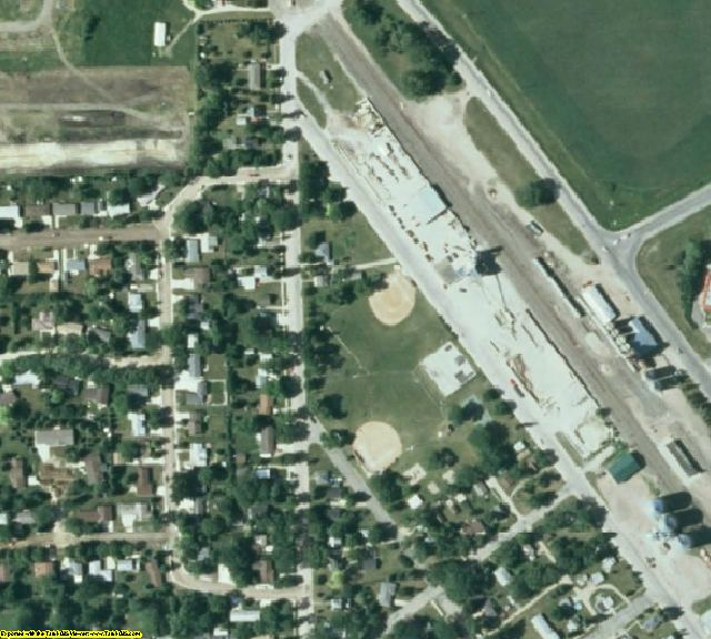 Stevens County, MN aerial photography detail