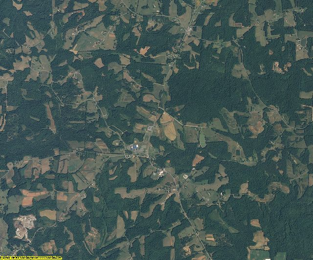 Stokes County, North Carolina aerial photography