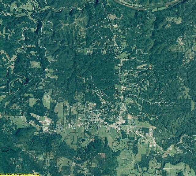 Stone County, Arkansas aerial photography