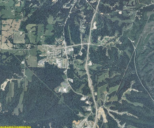 Stone County, Missouri aerial photography