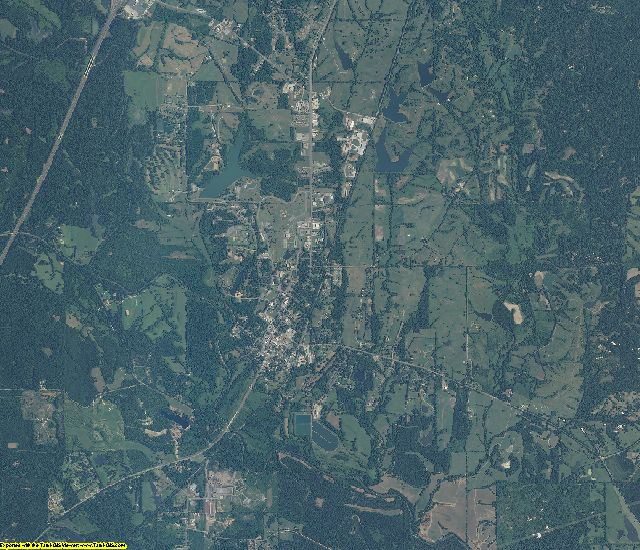 Sumter County, Alabama aerial photography