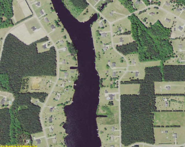 Sumter County, SC aerial photography detail