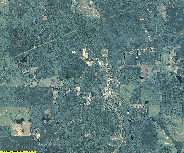 Talbot County, Georgia aerial photography