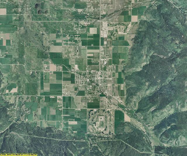 Teton County, Idaho aerial photography