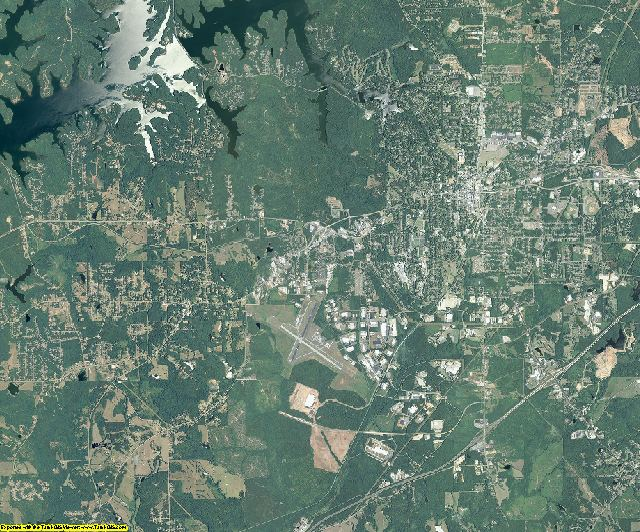 Troup County, Georgia aerial photography