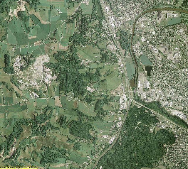 Tuscarawas County, Ohio aerial photography