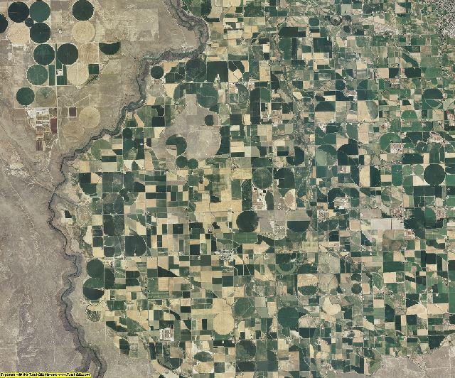 Twin Falls County, Idaho aerial photography