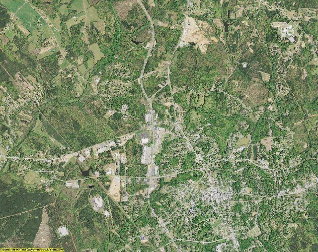 Union County, South Carolina aerial photography