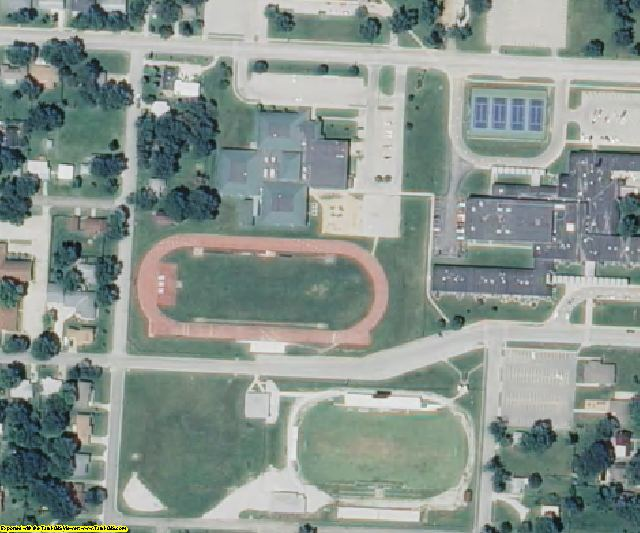 Vernon County, MO aerial photography detail