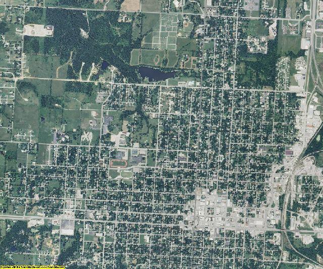Vernon County, Missouri aerial photography