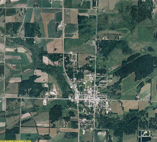 Wadena County, Minnesota aerial photography