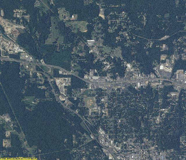 Walker County, Alabama aerial photography