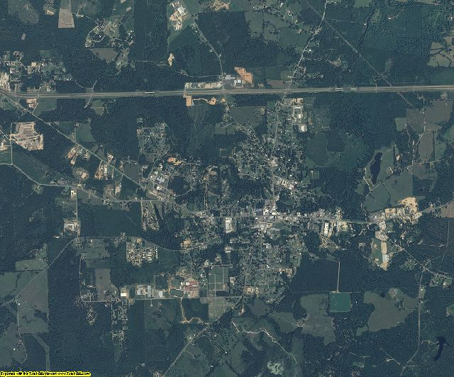 Walthall County, Mississippi aerial photography