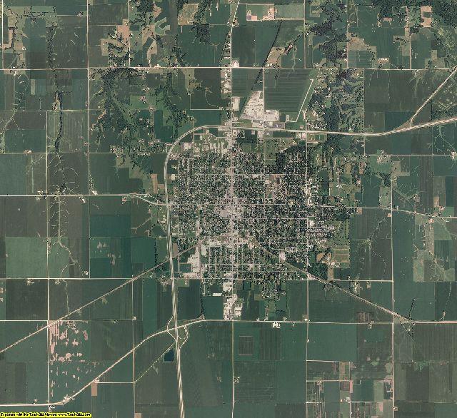 Warren County, Illinois aerial photography