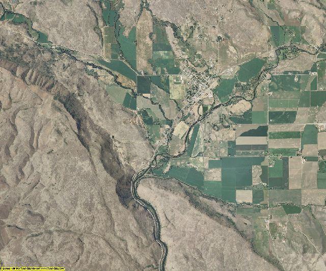 Washington County, Idaho aerial photography