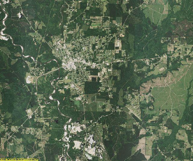 Washington County, Louisiana aerial photography