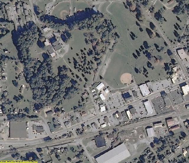 Washington County, VA aerial photography detail