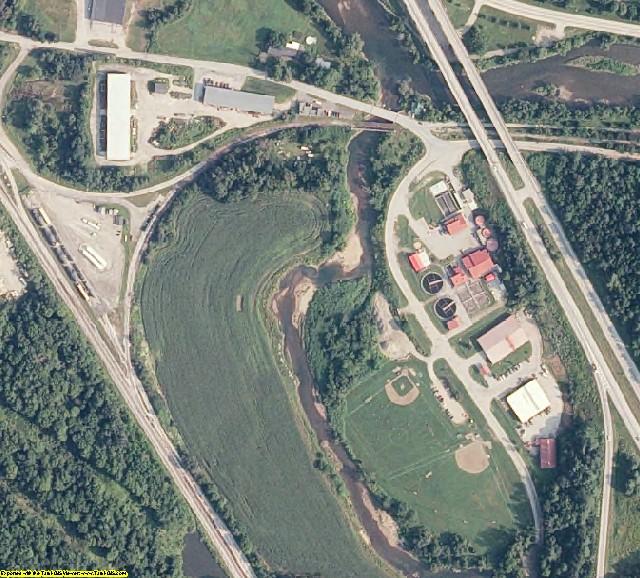 Washington County, VT aerial photography detail