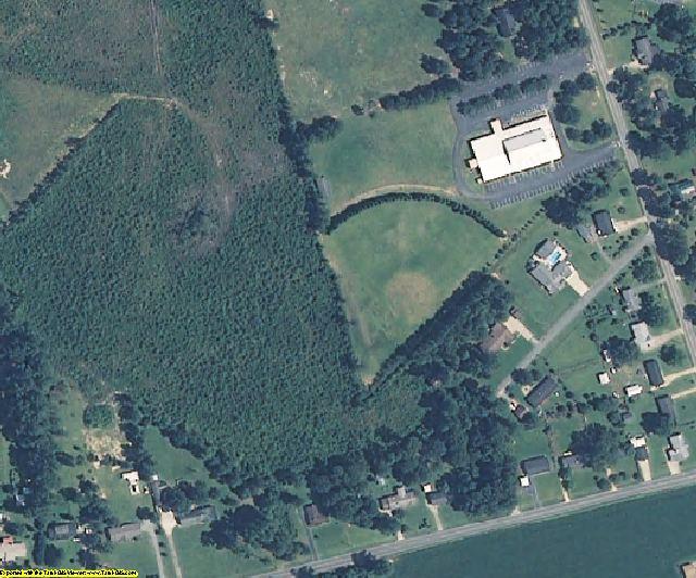 Wayne County, NC aerial photography detail