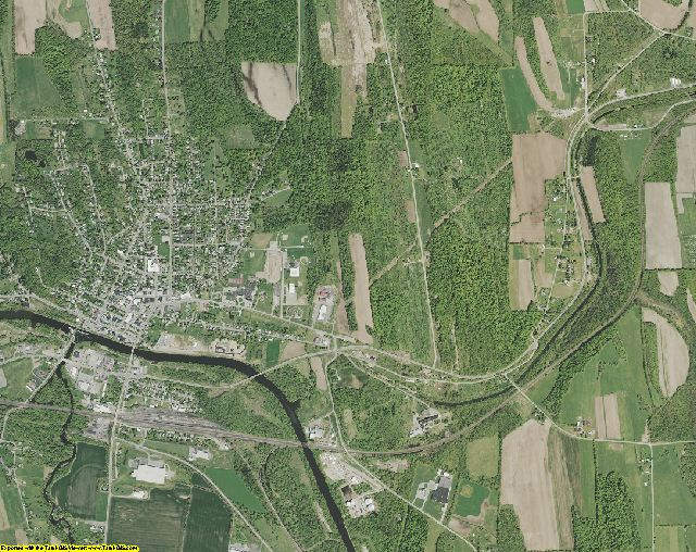 Wayne County, New York aerial photography
