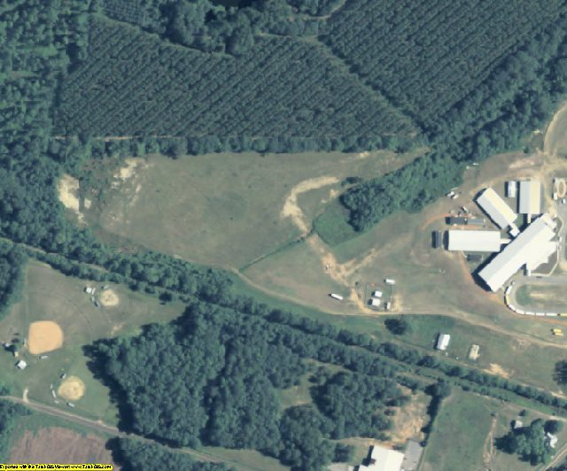 Webster County, GA aerial photography detail