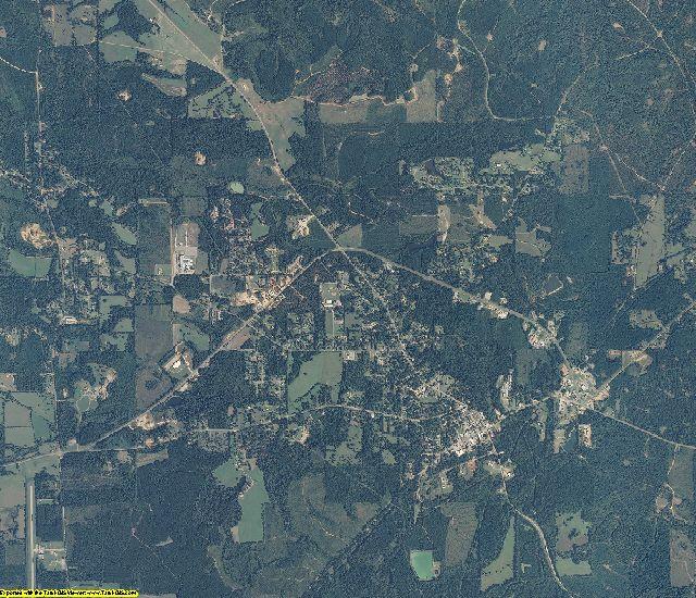Wilcox County, Alabama aerial photography
