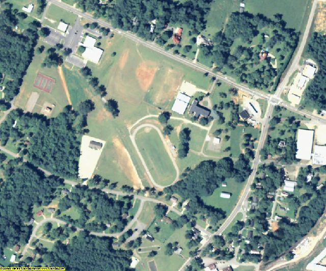 Wilkes County, GA aerial photography detail
