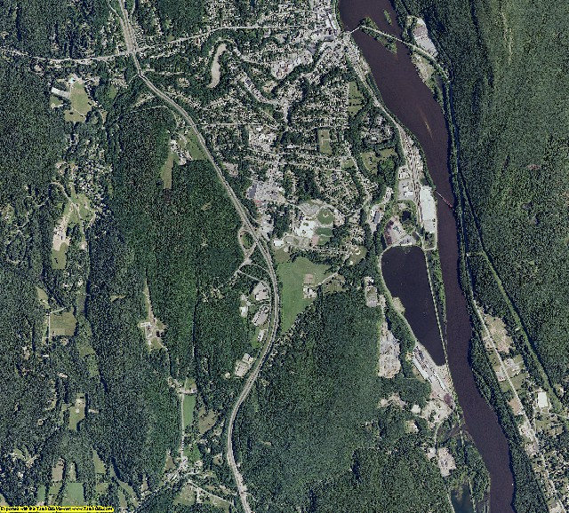 Windham County, Vermont aerial photography