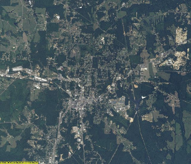 Winston County, Alabama aerial photography