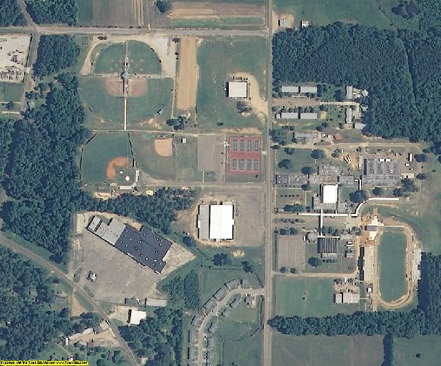 Winston County, MS aerial photography detail
