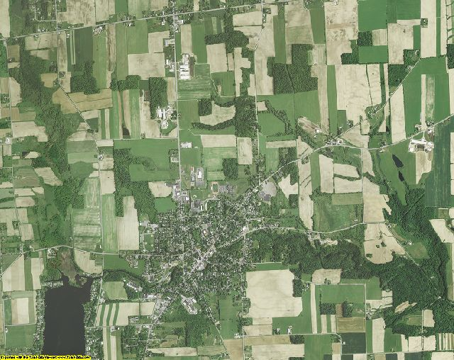 Wyoming County, New York aerial photography