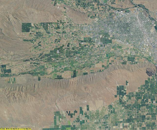 Yakima County, Washington aerial photography