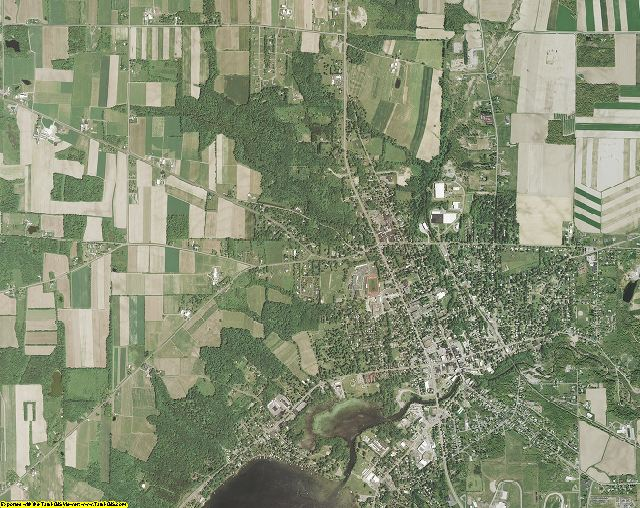 Yates County, New York aerial photography
