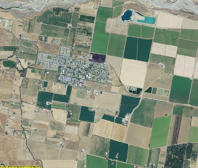 Yolo County, California aerial photography