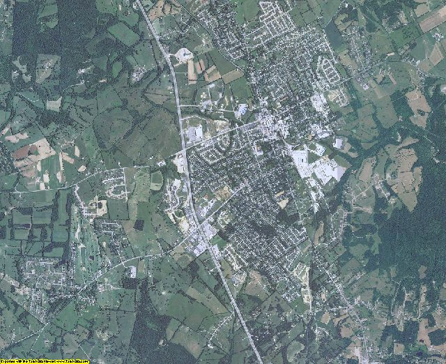 Anderson County, Kentucky aerial photography